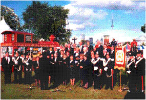 Choir at CNE grounds