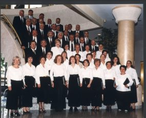 Choir at Hollywood Princess - Coro alla Hollywood Princess